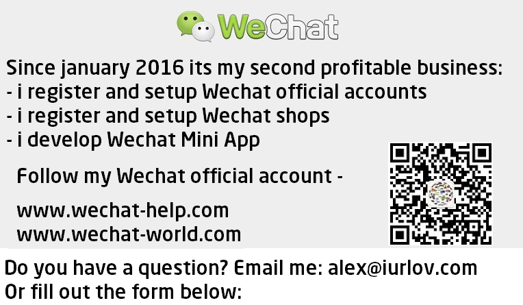 WECHAT EXPERT – Influencer from Russia Alex Iurlov